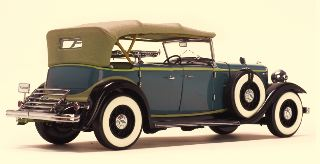 FORD LINCOLN KB TOP UP BLU 1/18 1932