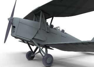 TIGER MOTH DH82a    ROSSO 1/72