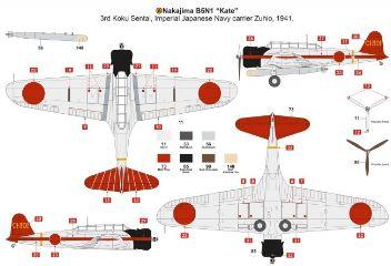NAKAJIMA B5N1 KATE        1/72