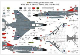 McDONNEL DOUGLAS FGR.1 PHANTOM 1/72 ROYAL NAVY
