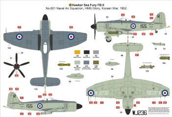 HAWKER SEA FURY FB11      1/48