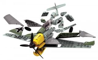 MESSERSCHMITT BF109e     252mm