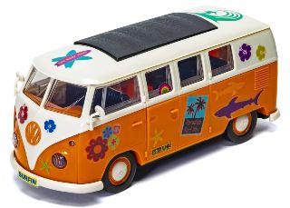 VW Camper quick build 198mm costruzione tipo lego senza colla ne colori