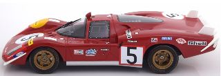 FERRARI 512S LONG TAIL n5 1/18 ACCIDENT LM 1970 ICKX-SCHETTY