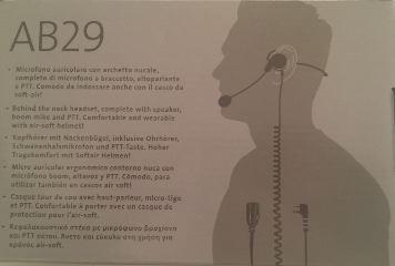 AB29 MICROFONO AURICOLARE