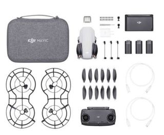 DJI Mavic Mini Fly More Combo con 3 batterie borsa e paraeliche