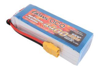 LiPo 6s 22,2v 4400mAh 35C Gens Ace spina Deans
