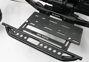 Pedane laterali con scatola ricevente per Axial SCX10 II