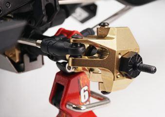 Fuselli posteriori in ottone  2pcs per Axial SCX10 II