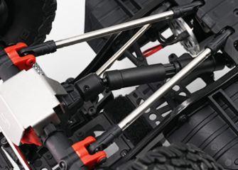 Link acciaio inossidabile 95mm per Scaler/Crawler 1/10 2pz