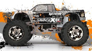 SAVAGE X 4.6 GT3 MONTATO 2,4Gh