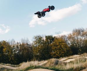 Typhon 4X4 3S BLX Brushless 1/8 4WD Buggy Red