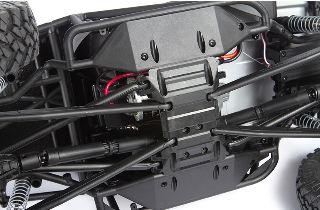 Wraith 1.9 T1 arancio scaler 1/10 montato con radio