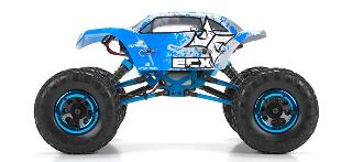 TEMPER MINI ROCK CRAWLER  1/18