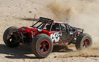 LOSI K&N DBXL MOTORE A BENZINA 23cc BUGGY 4WD 1/5