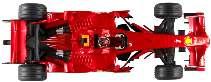 FERRARI F1 2008 RAIKKONEN 1/18