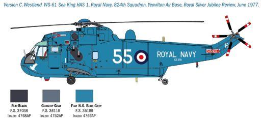 SH-3D Sea King Apollo Recovery 1/72 SH3D