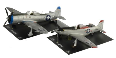 P47N and P51D 1/72  War Thunder
