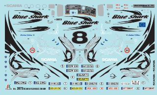 SCANIA R620 BLUE SHARK    1/24
