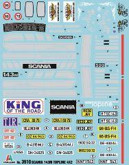 SCANIA 143M TOPLINE 4X2   1/24