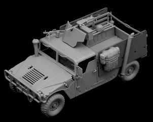 M998A1 HUMVEE PICK-UP     1/35