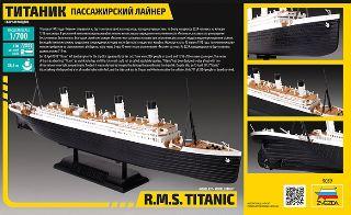 RMS TITANIC LUNGO 38,4cm 1/700