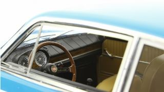 Fiat 850 Sport Coupè Blu chiaro 1968  1/18