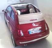 FIAT NUOVA 500 CABRIO     1/18