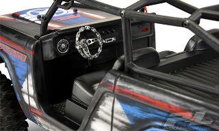 Carrozzeria trasparente Ford Bronco 1966 per SCX10 DeadBolt 300mm