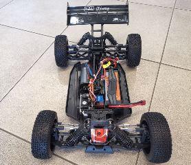 Bull Sport buggy EP 1/8 Brushless LiPo RTR ARANCIO