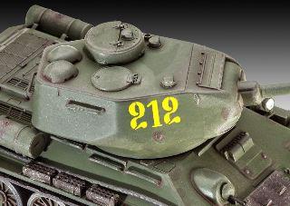 CARRO RUSSO T34/85        1/72