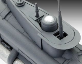 GERMAN SUBMARINE          1/72