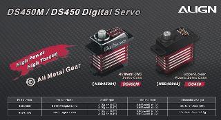 MICRO SERVO DS450M TREX250/450