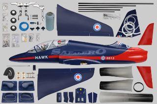 BAE HAWK EDF 120mm ARF  1600mm