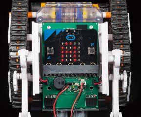 MICROCOMPUTER ROBOT (Crawler) +++