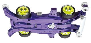 KEEN HAWK Jr. CLEAR PURPLE MIN